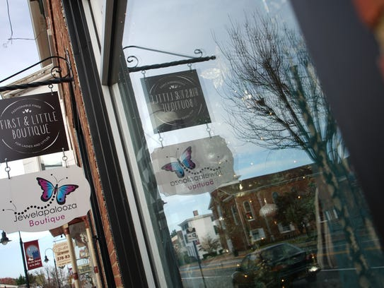 First & Little Boutique in Middletown was one of thefirst pop-up businesses affiliated with the statewide program. The boutique has expanded and grown into a larger space in downtown Middletown.