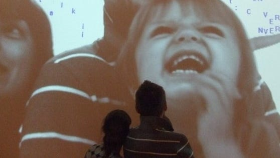 Laughing in letters at 21c