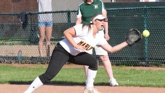 Livingston County native and Farmington Hills Mercy softball player Abby Krzywiecki was named Miss Softball.