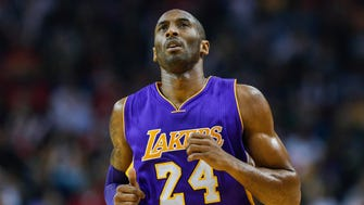Lakers guard Kobe Bryant joined the many voices in sports speaking about the situation in Ferguson.
