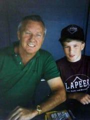Organizer and baseball fan John Lane has a childhood