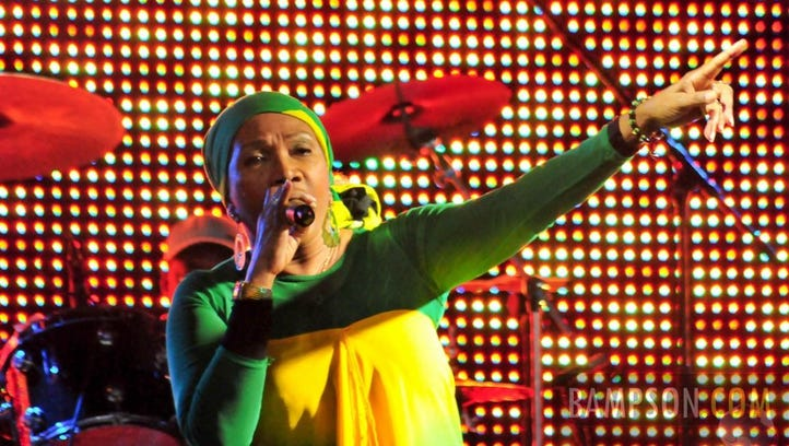 Marcia Griffiths, who toured with Bob Marley as part
