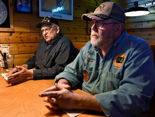 Bob Behrens and James Kowitz of the Vietnam Veterans