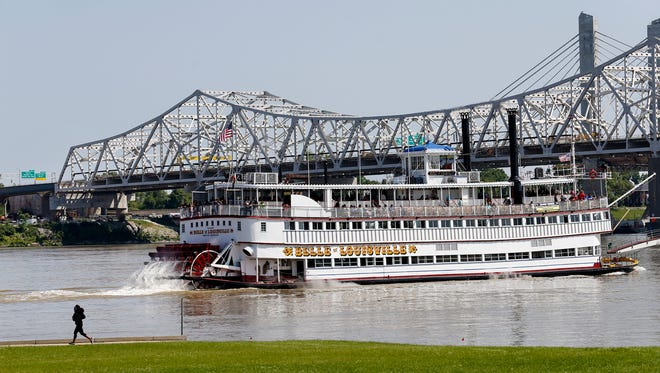 The Belle of Louisville in May 2016.