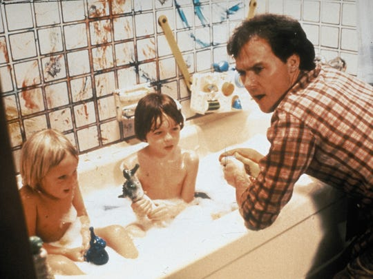 "Michael Keaton (""Batman,"" ""Birdman,"" ""The Founder"") gets his hands dirty in the 1983 film ""Mr. Mom."""