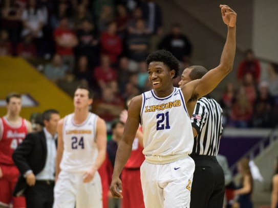 Lipscomb sophomore Kenny Cooper helped the Bisons earn