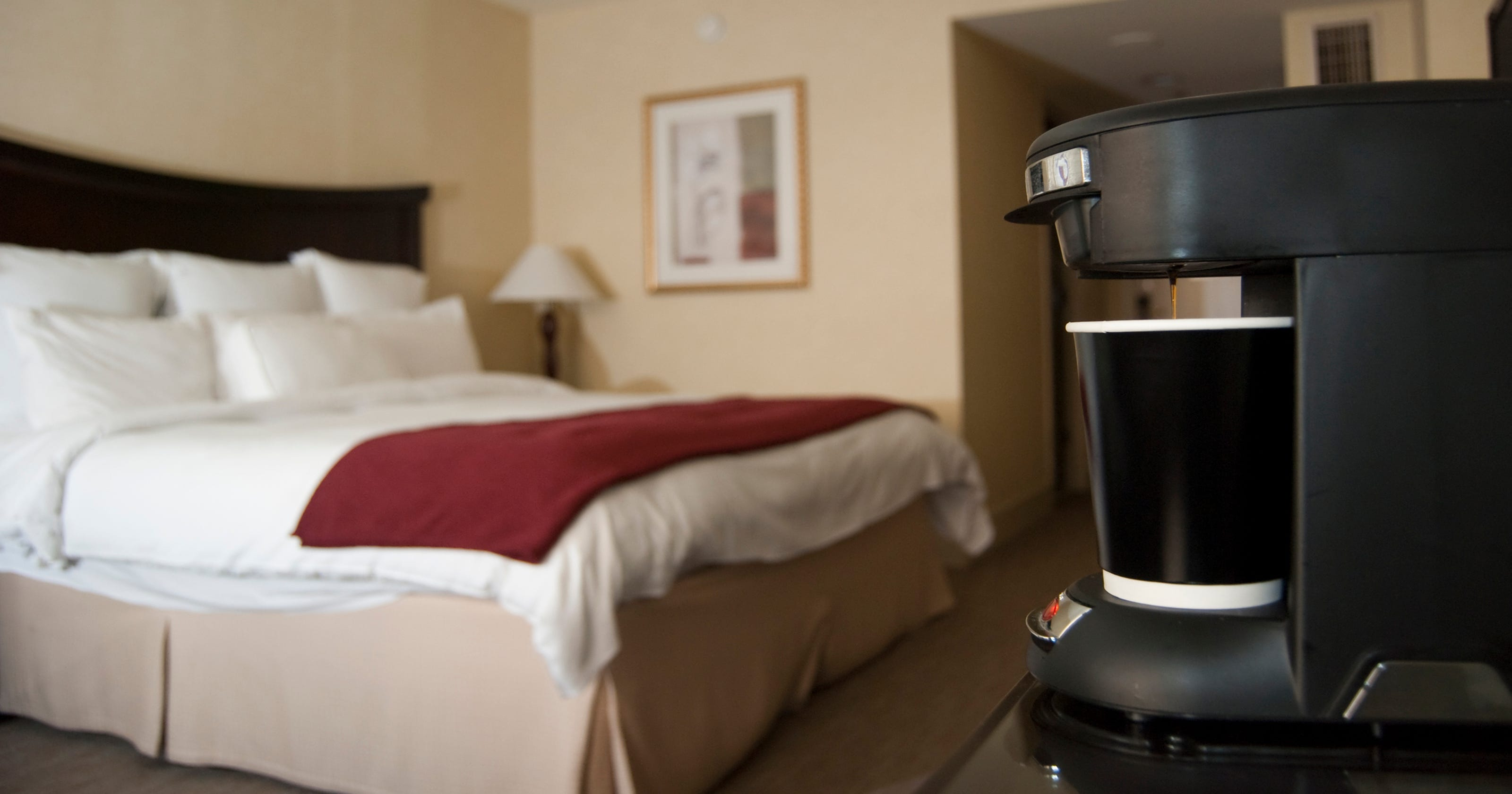 Why is hotel coffee so awful?