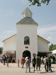 The San Lorenzo Catholic Church in Clint is shown Aug. 11, 2012.