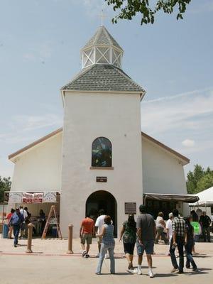 The San Lorenzo Catholic Church in Clint is shown Aug. 11, 2012.