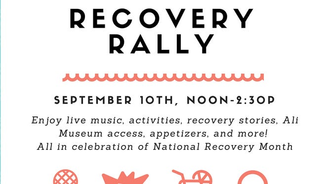 Recovery Rally promotion