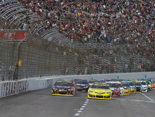 Nascar At Texas Motor Speedway Start Time Lineup For
