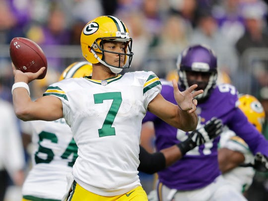 Brett Hundley takes over for the Packers with Aaron