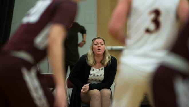 Toms River South Boys Basketball Assistant Coach Sandy Madigan