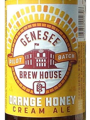 Orange Honey Cream Ale, from Genesee Brewing Co. in Rochester, N.Y., is 6% ABV.