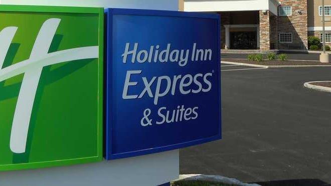 A Holiday Inn Express hotel.