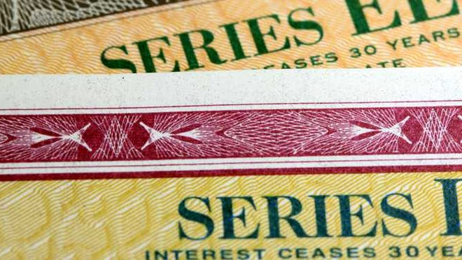 Government bonds Series EE and Series I.