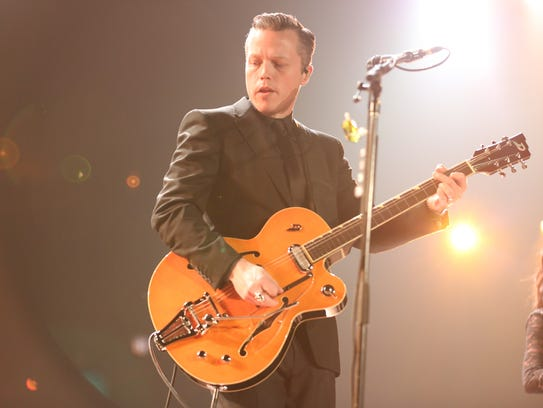 Artist Jason Isbell, performing here at the Opry House