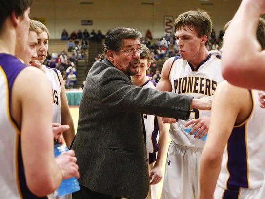 Big Sandy's head basketball coach, Roy Lackner, talks