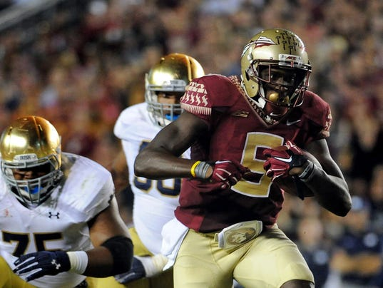 USP NCAA FOOTBALL: NOTRE DAME AT FLORIDA STATE S FBC USA FL