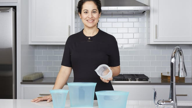 Rebecca Finell launched Zip Top, silicone-based reusable containers that zip closed. Finell, who now lives in Austin, began her entrepreneurial career creating Boon baby line, and then Finell, a luxury homegoods and handbags line.