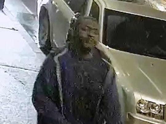 Surveillance footage shows one of two suspects Milwaukee