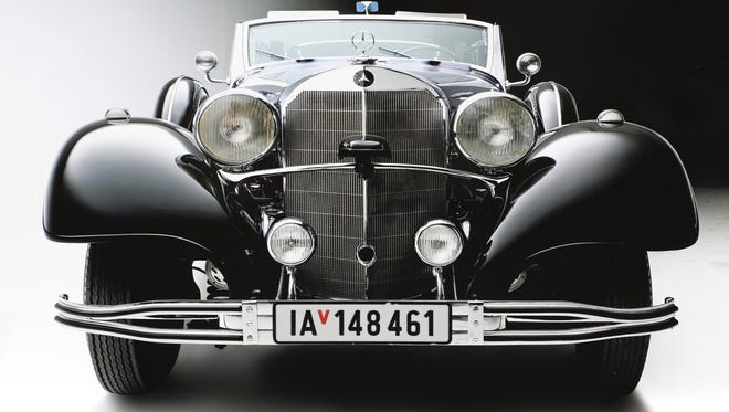 Mercedes-Benz that carried Adolf Hitler during parades in Nazi Germany will be up for auction in Scottsdale.
