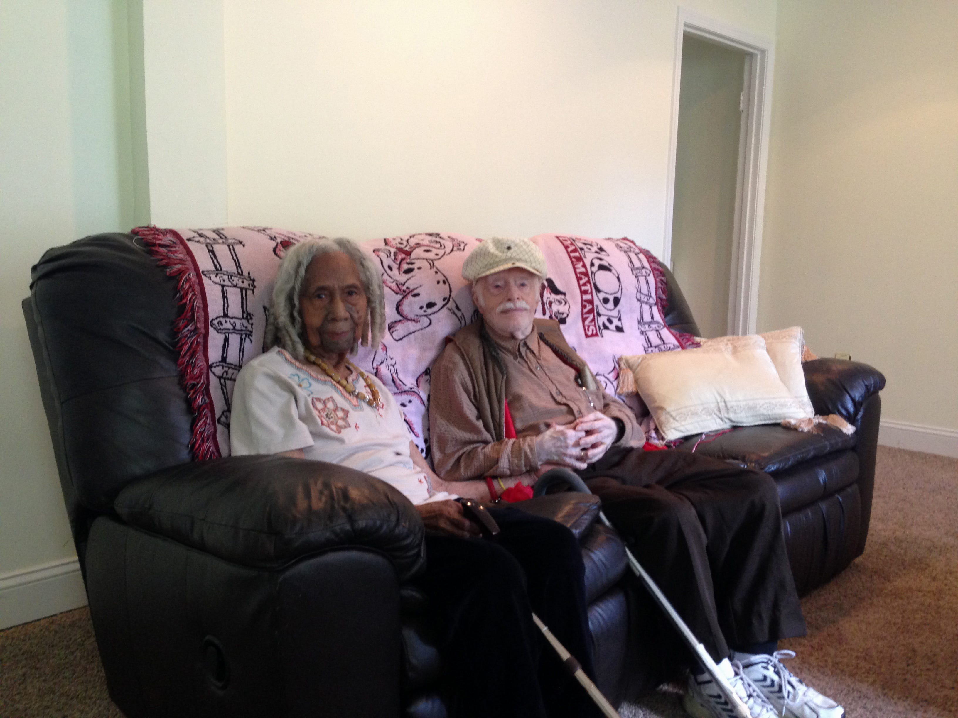 Pictures of interracial old couple