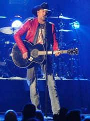 Jason Aldean performs during the 52nd Academy of Country