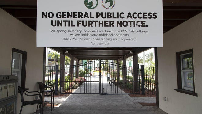 The final two weeks of Winter Equestrian Festival at Palm Beach International Equestrian Center were canceled due to the threat of the coronavirus.