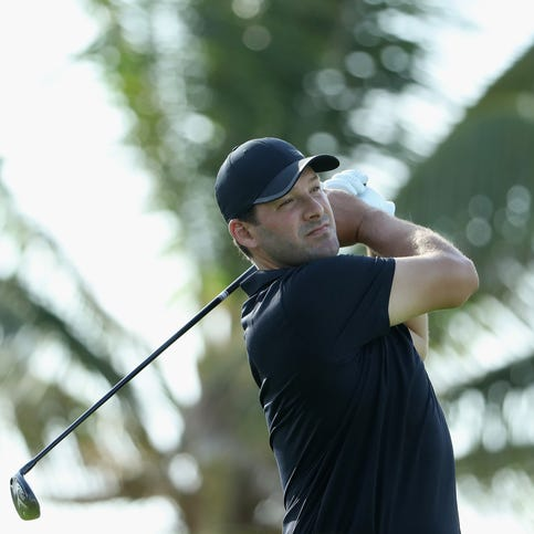 D'Amato: Tony Romo treating golf as a second career