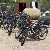 City to auction office equipment, vehicles, bicycles