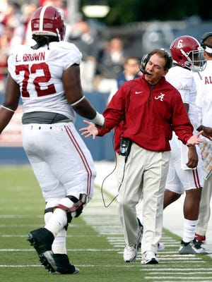 Head coach Nick Saban and the Alabama Crimson Tide are in an unfamiliar position this week after the loss to Ole Miss sitting in fifth place in the vaunted SEC West.
