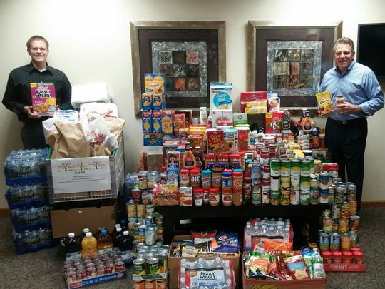 Wink Chiropractic's November collection totaled 1692 pounds of food and marks their 31st year of collaboration with the Salvation Army.