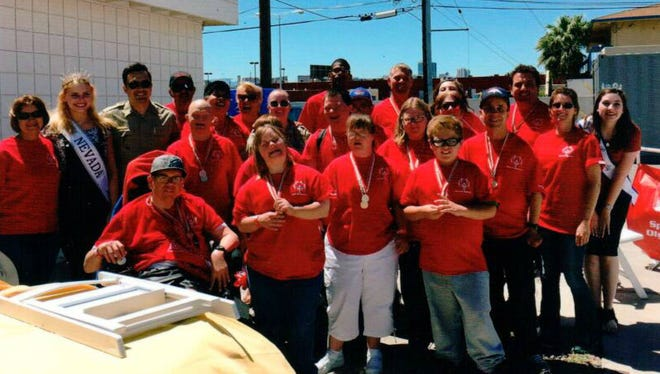 Special Olympics athletes finished off their basketball and bocce ball seasons with a pizza party.
