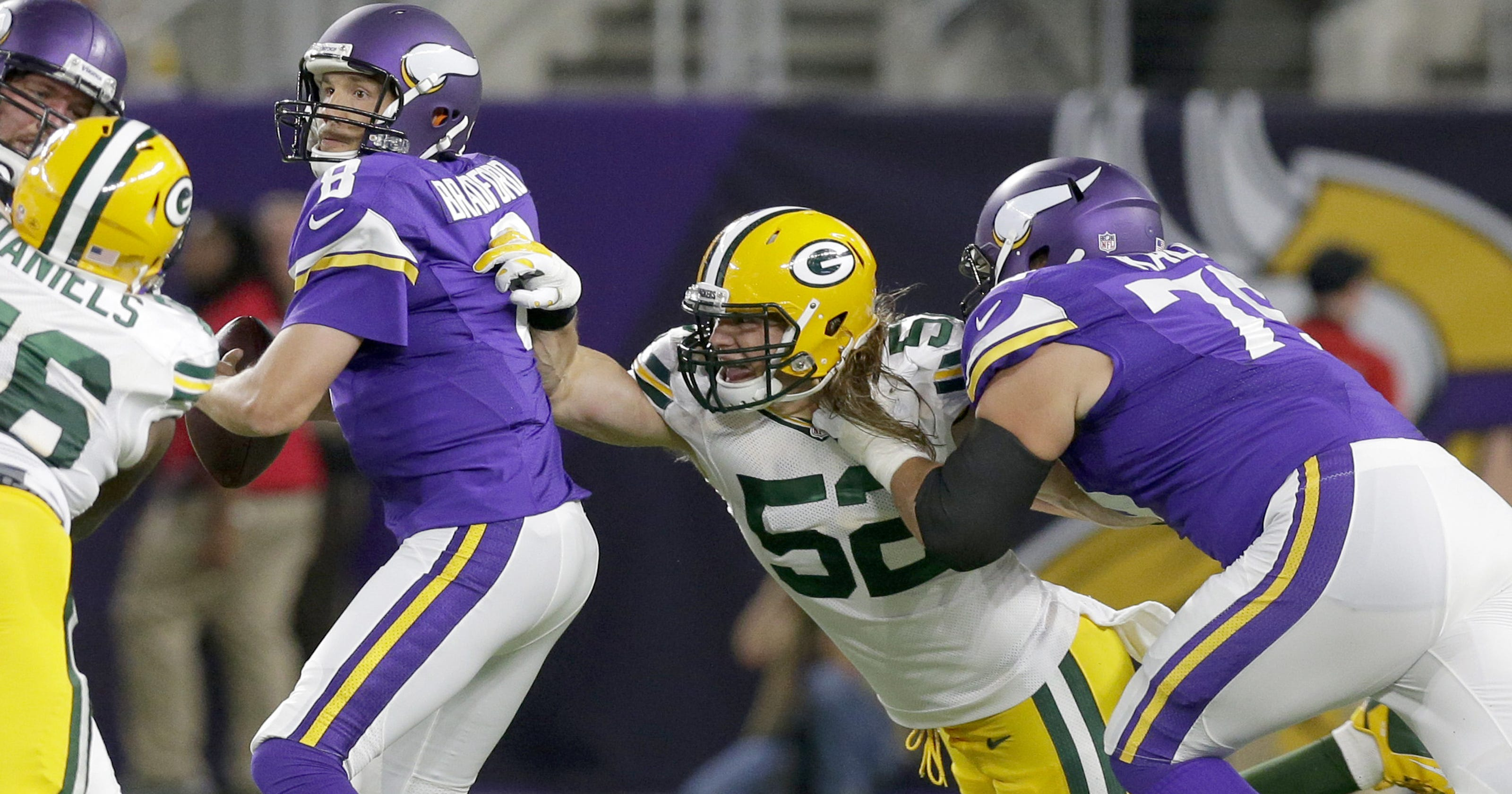 0fa8a136055 Clay Matthews  ankle latest injury concern