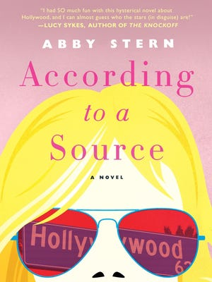 """This cover image released by Thomas Dunne Books shows """"According to a Source,"""" a novel by Abby Stern."""