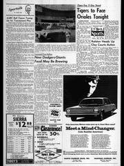 Battle Creek Sports History: Week of July 14, 1966