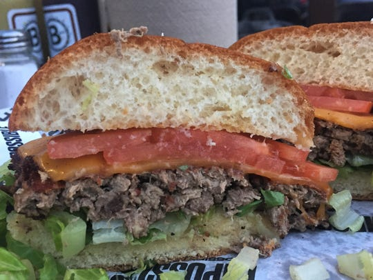 The Impossible Burger is mostly composed of textured
