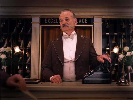 "Bill Murray appears in a scene from ""The Grand Budapest Hotel."""