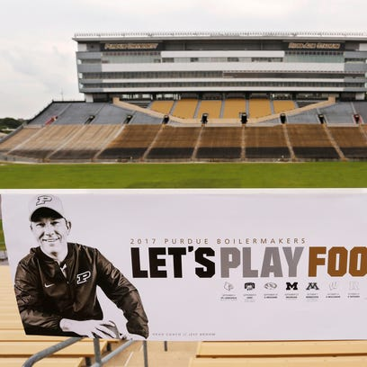 """Let's Play Football"" follows Jeff Brohm to Ross-Ade"