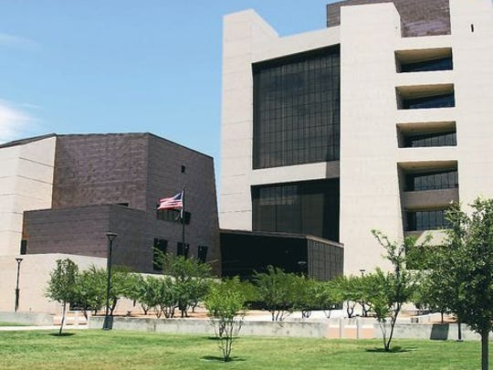The Albert Armendariz Sr. Federal Courthouse in Downtown El Paso.