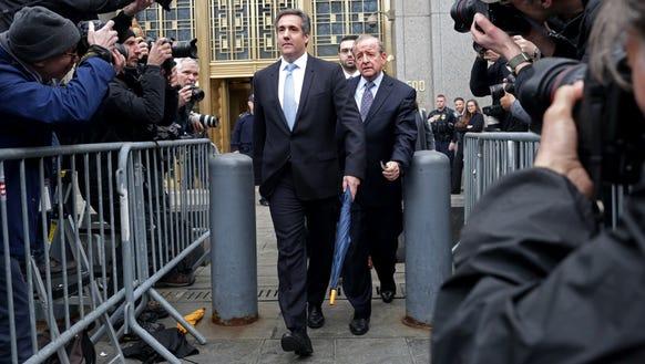 Michael Cohen, longtime personal lawyer and confidante