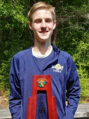 Maclay's Will Daughton captured a District 2-1A title
