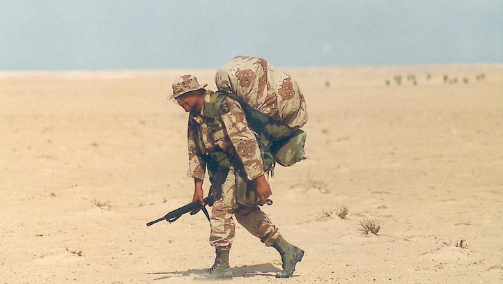 Gulf War at 25: Desert Storm a milestone for 101st