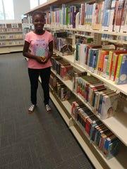 Janelle Octavien, 11, frequents the Northwest Regional