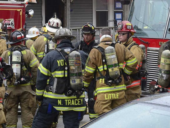 Fire crews from multiple departments were at the scene