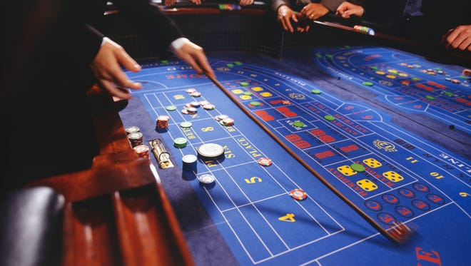 California law prohibits dice from determining craps game outcomes.