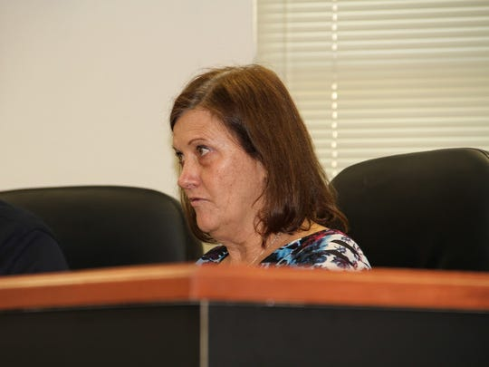 County Commission Chairman Susan Flores provided recommendations on starting an ordinance for Timberon regarding thinning at the Nov. 10 regular commission meeting.