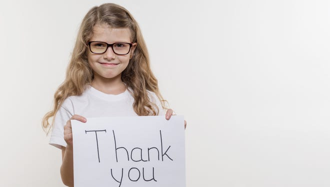 """Dr. Jennifer Politis, a Ramsey-based family psychologist, says there are ways to give gifts, even big ones, without spoiling your kids. """"Instead of your kids saying 'thank you' and that's it,"""" she says, """"make a habit of them writing thank-you notes to you, to their grandparents or even to the universe."""""""