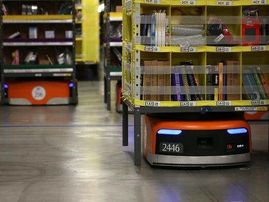 Amazon fulfillment facility